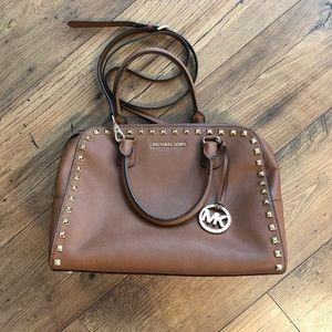 Michael Kors Acorn Studded Saffiano Bag
